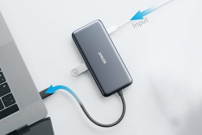 Anker [Upgraded] USB C Hub Adapter, 7-in-1 USB C Adapter