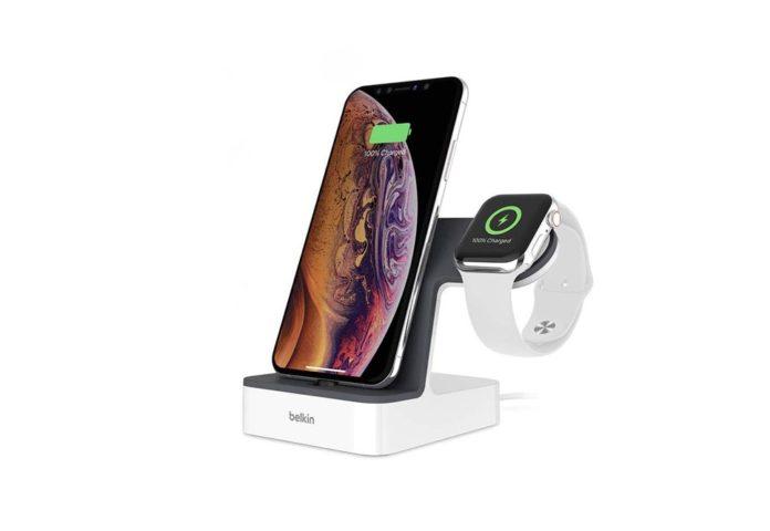 Belkin iPhone Charging Dock + Apple Watch Charging Stand