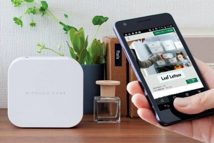 Brother P-Touch Cube Smartphone Label Maker,