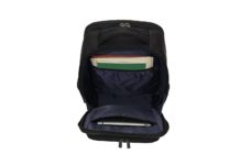 Kenneth Cole Reaction Colombian Leather Dual Compartment 15.6 Laptop Anti-Theft RFID Business Backpack
