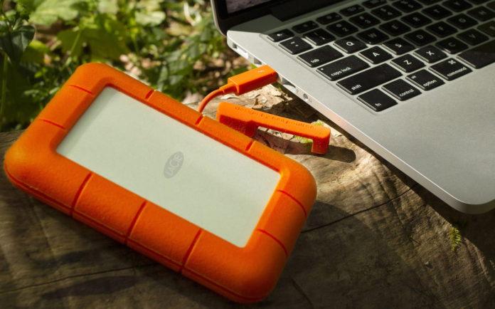 LaCie Rugged Mini 2TB External Hard Drive Portable HDD-min
