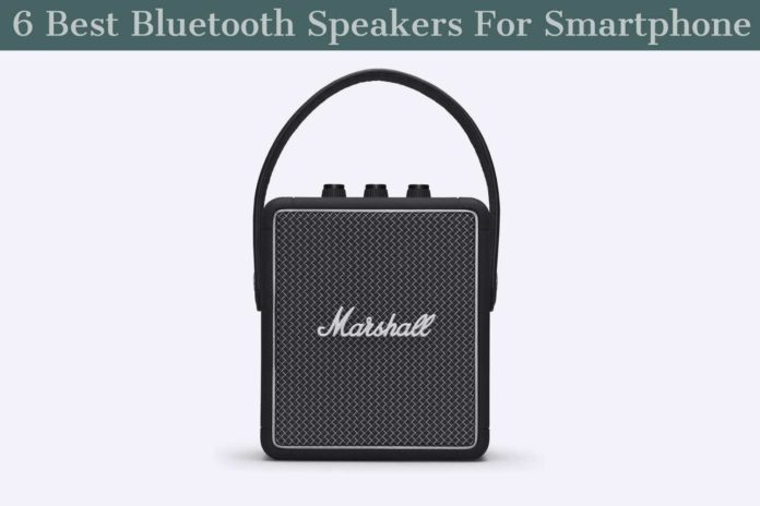 Best Bluetooth Speaker For Smartphone
