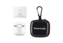 NeotrixQI Wireless Charging Receiver Adapter for AirPods Case
