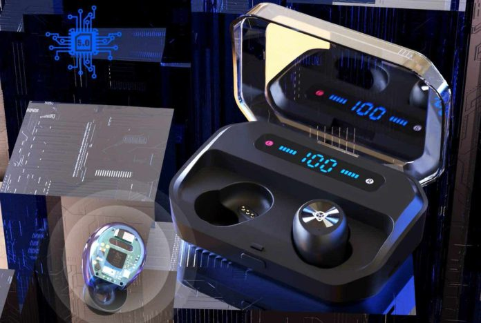 Otium Wireless Earbuds Bluetooth 5.0 Headphone