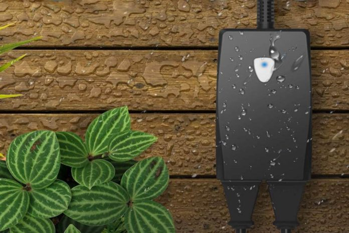 Outdoor Smart Plug-Aoycocr Smart Outlet with 2 Sockets