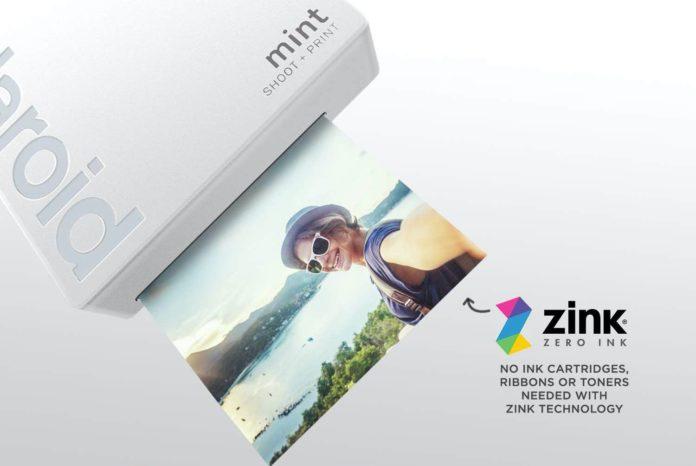 Polaroid Mint Instant Print Digital Camera (White)