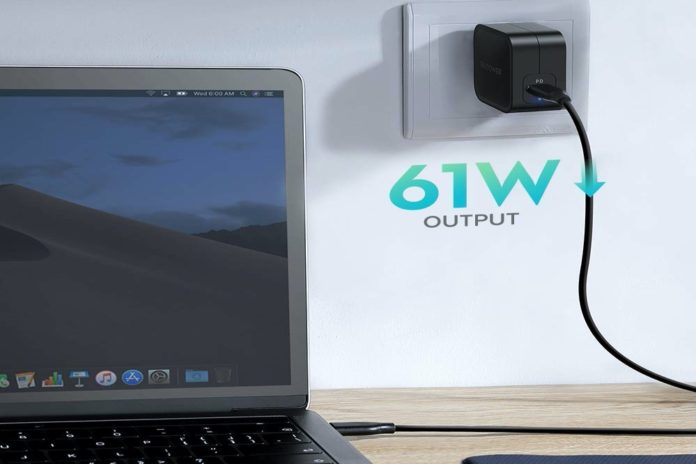 RAVPower 61W Wall Charger PD 3.0