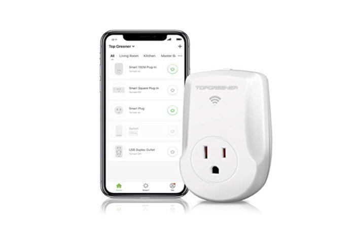 TOPGREENER Smart Wi-Fi Powerful Plug