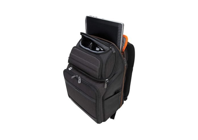 Targus CitySmart EVA Pro Travel Business Commuter and Checkpoint-Friendly Backpack-min
