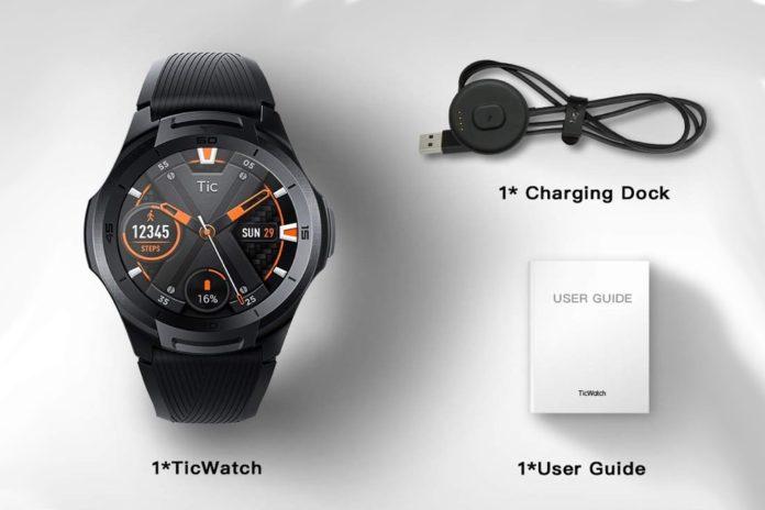 Ticwatch S2, Waterproof Smartwatch