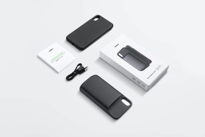 UGREEN 3600 mAh Wireless Charger Battery Case Compatible for iPhone X XS
