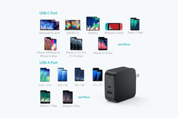 USB C Charger, RAVPower 61W USB Wall Charger PD 3.0 Type C Charger