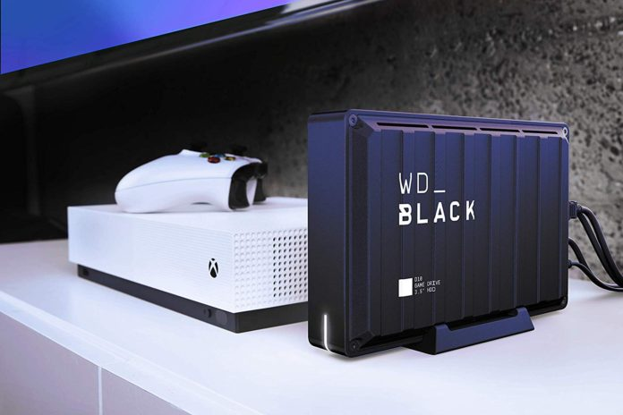 WD Black 8TB D10 External Hard Drive