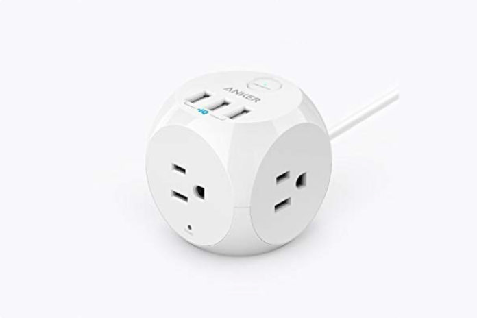 Anker PowerPort Cube USB Power Strip