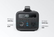 Anker Powerhouse 200, 200Wh:57600mAh Portable Rechargeable Generator
