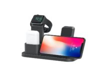 BEACOO Stand for iwatch 5, Charging Stand Dock Station for AirPods Stand Charging Docks Holder