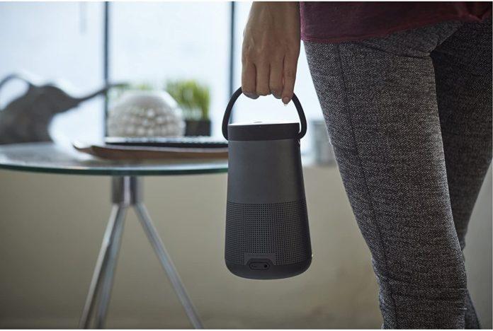 Bose SoundLink Revolve+ Portable & Long-Lasting Bluetooth 360 Speaker-min