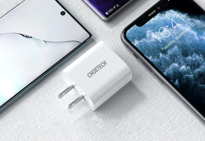 CHOETECH 18W PD 3.0 Fast Charger Adapter