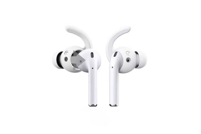 EarBuddyz Ultra Ear Hooks and Covers Compatible with Apple AirPods 1 & AirPods 2