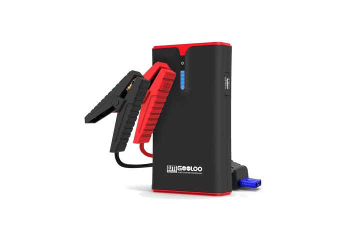 GOOLOO 1500A Peak SuperSafe Car Jump Starter