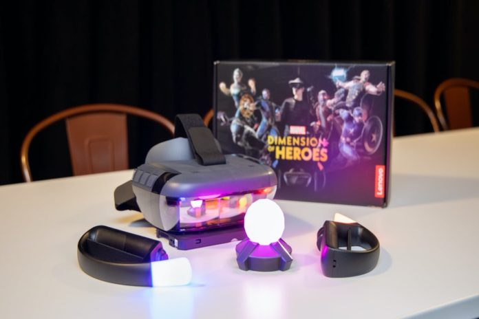 MARVEL Dimension of Heroes (Lenovo Mirage AR)