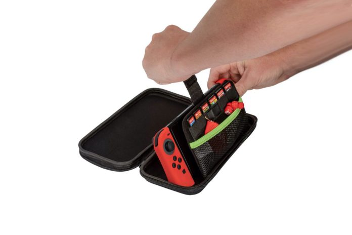 PDP Nintendo Switch Slim Travel Case Zelda Retro Edition