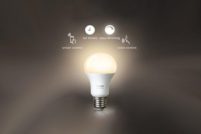 Philips Hue White LED Smart Light Bulb