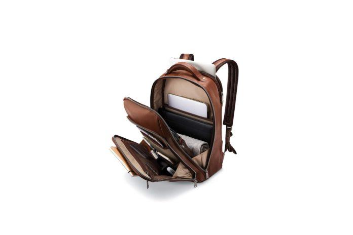Samsonite Classic Leather Backpack