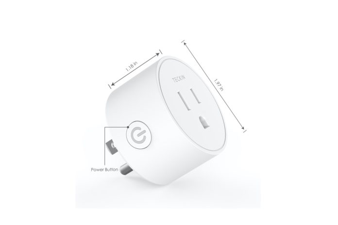 Teckin Mini Smart Outlet Wifi plug