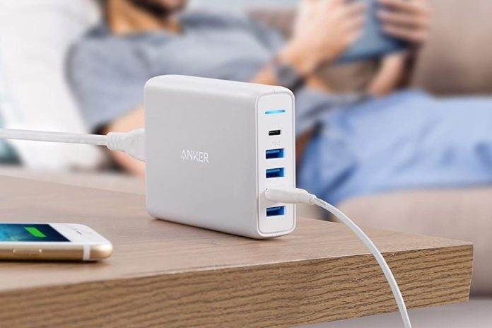 USB C Wall Charger, Anker Premium 60W 5-Port