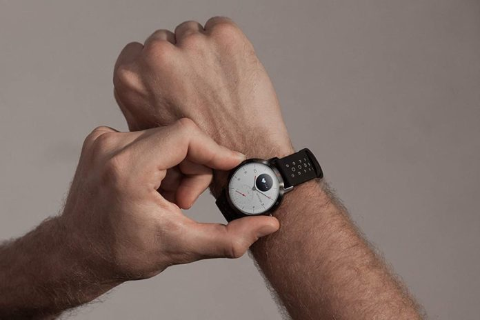 Withings Steel HR Sport Hybrid Smartwatch (40mm)