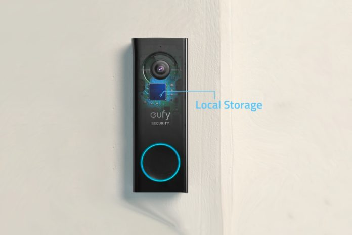 eufy Security, Wi-Fi Video Doorbell with 2K HD,