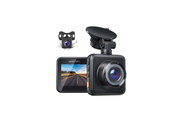 APEMAN Dual Dash Cam for Cars