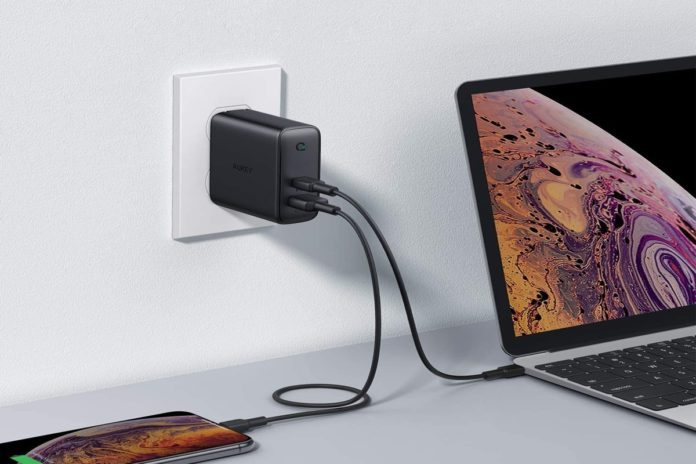 AUKEY 60W PD Charger, USB C Wall Charger-min