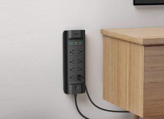 AUKEY USB-C Power Strip with 18W Power Delivery