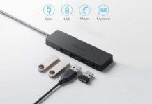 Anker 4-Port USB 3.0 Hub, Ultra-Slim Data USB Hub