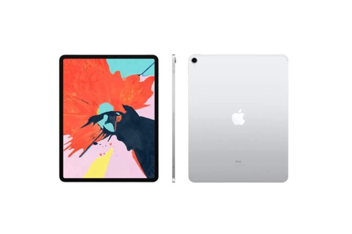 Apple iPad Pro (12.9-inch, Wi-Fi + Cellular, 64GB) - Silver