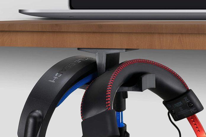 Brainwavz BigT Under Desk Headphone Stand-min