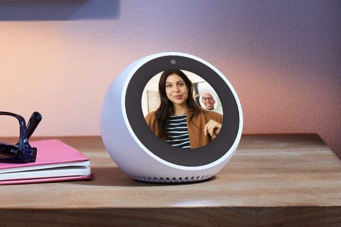 Echo Spot - Smart Alarm Clock with Alexa