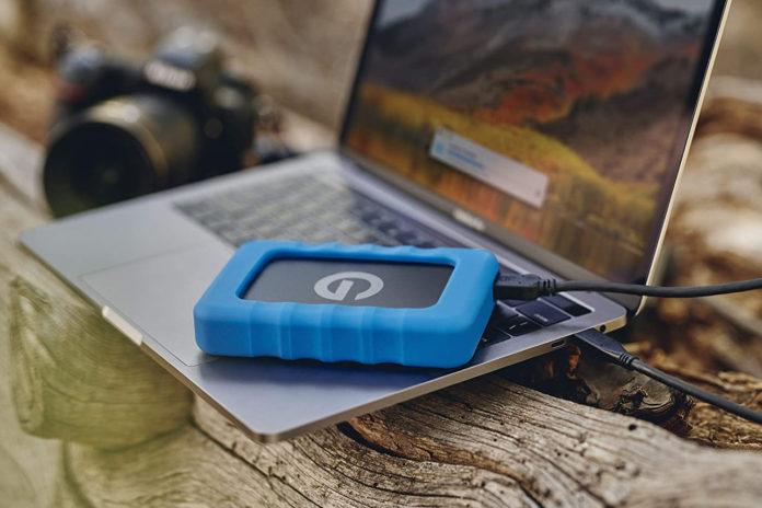 G-Technology 1TB G-DRIVE ev RaW Portable External Hard Drive