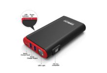 GOOLOO Quick Charge in & Out Port, 500A Peak SuperSafe Car Jump Starter