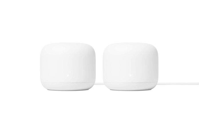 Google Nest Wifi Router 2 Pack (2nd Generation)
