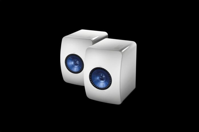 KEF LS50 Mini Monitor - High Gloss White (Pair)
