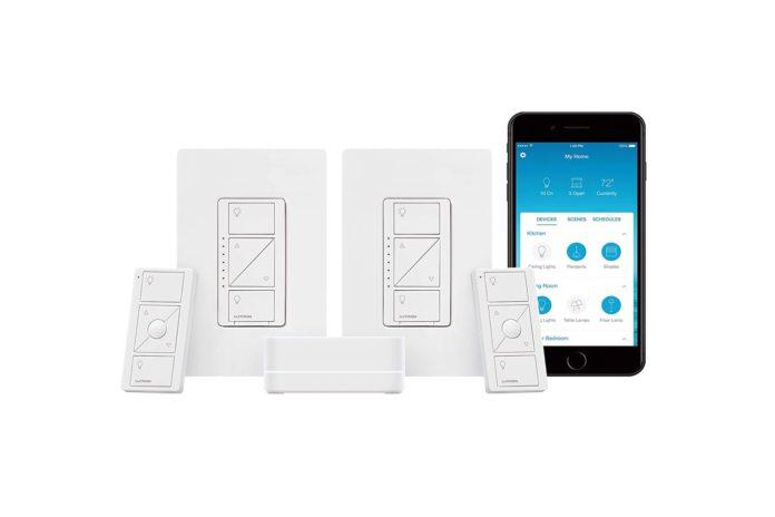 Lutron Caseta Smart Start Kit, Dimmer Switch (2 Count)
