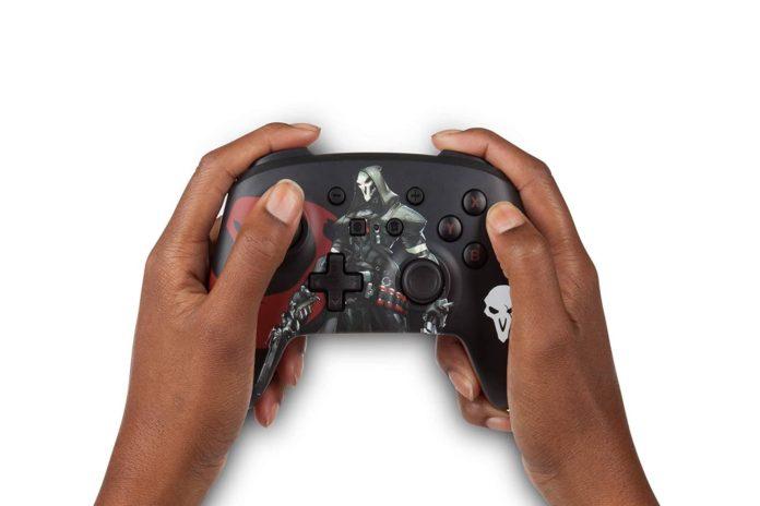 PowerA Overwatch Enhanced Wireless Controller for Nintendo Switch