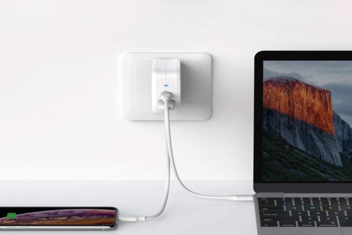 RAVPower 61W PD 3.0 USB Type C Wall Charger
