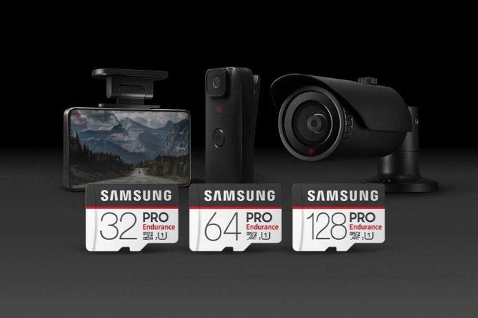 Samsung PRO Endurance 128GB 100MB:s (U1) MicroSDXC Memory Card with Adapter