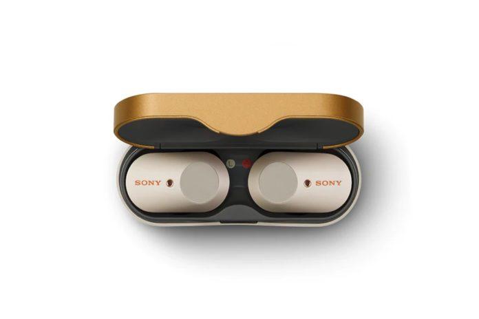 Sony WF-1000XM3 True Wireless Bluetooth Noise Canceling in-Ear Headphones