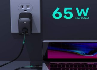 USB C Charger AUKEY Omnia 65W Fast Charger