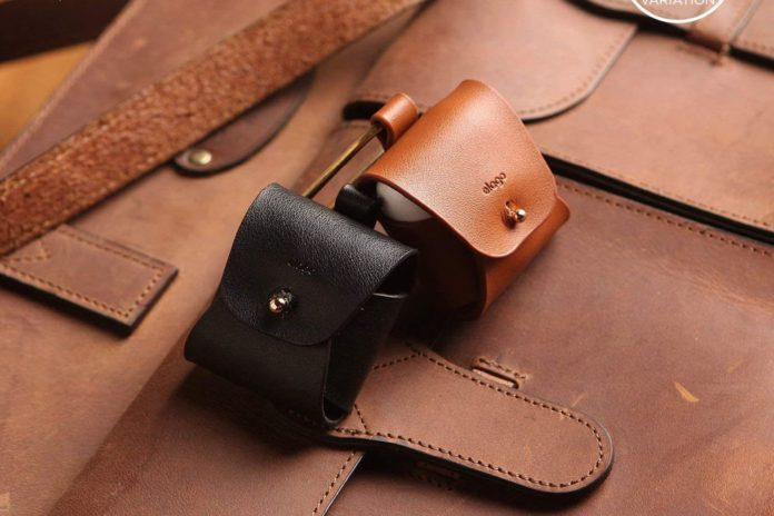 elago Leather AirPods Case-min
